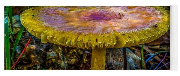 Colorful Mushroom Yoga Mat