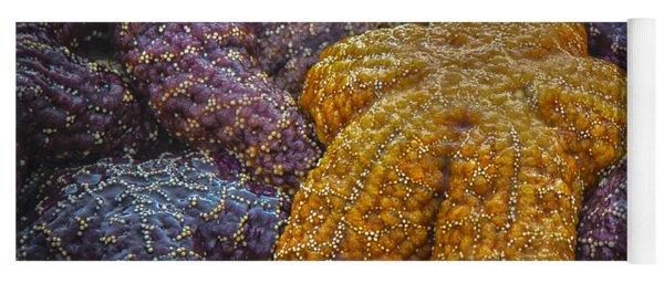 Colorful Starfish Yoga Mat