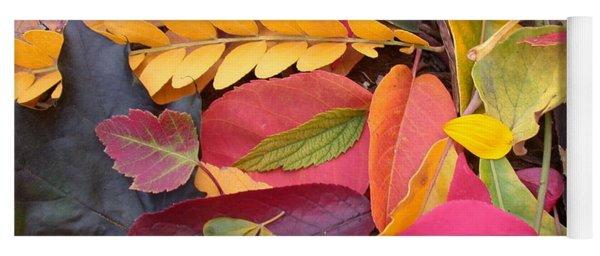 Colors Of Autumn Yoga Mat