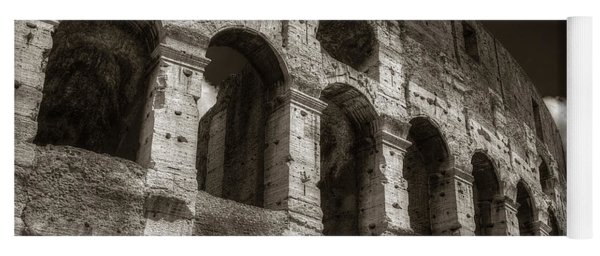 Colosseum Wall Yoga Mat