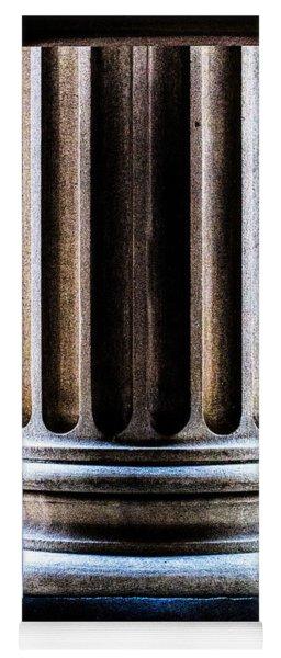 Column Number Nine  Yoga Mat