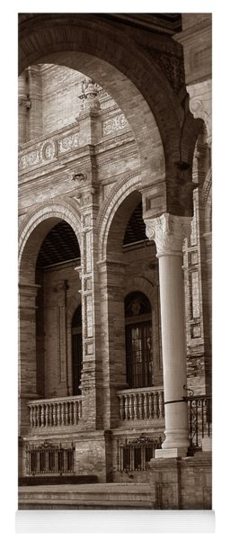 Columns And Arches Yoga Mat
