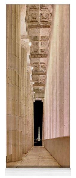 Columns And Monuments Yoga Mat