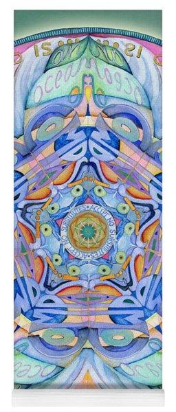 Compassion Mandala Yoga Mat
