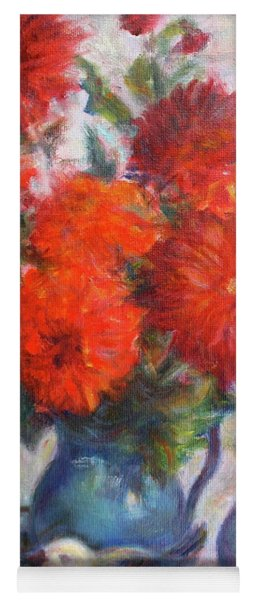 Complementary - Original Impressionist Painting - Still-life - Vibrant - Contemporary Yoga Mat