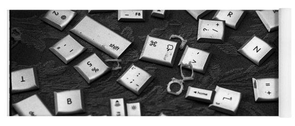 Computer Keys Yoga Mat
