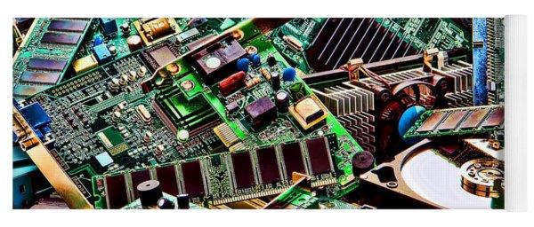 Computer Parts Yoga Mat