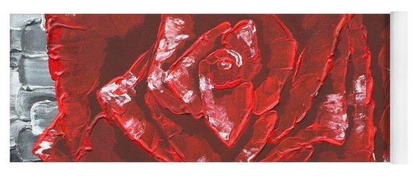 Concrete Rose  Yoga Mat