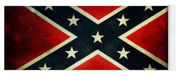 Confederate Flag 4 Yoga Mat