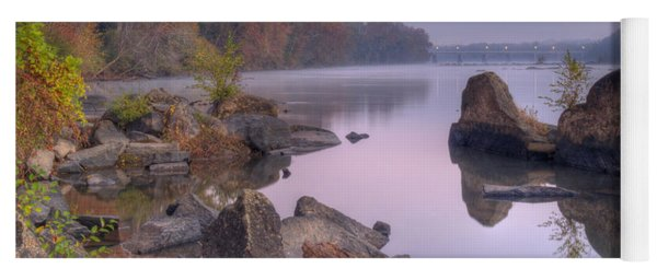 Congaree River At Dawn-1 Yoga Mat