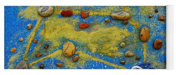 Constellation Of Leo Yoga Mat