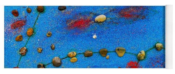 Constellation Of Pisces Yoga Mat