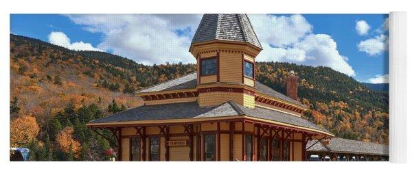 Conway Scenic Railroad Crawford Depot Yoga Mat