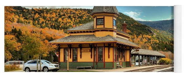 Conway Scenic Railroad Stop Yoga Mat