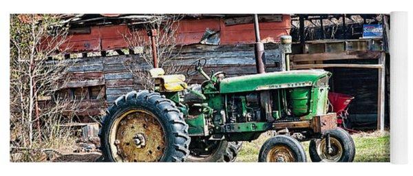 Coosaw - John Deere Tractor Yoga Mat