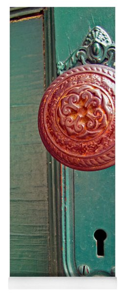 Copper Door Knob Yoga Mat