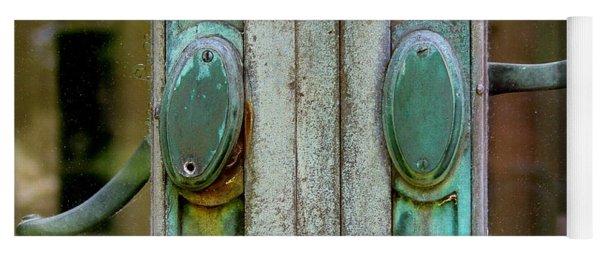 Copper Doorknobs Yoga Mat