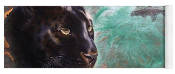 Copper Jaguar Yoga Mat