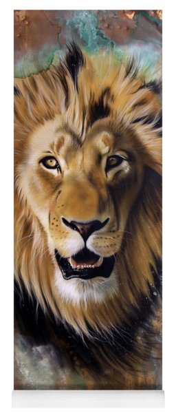 Copper Majesty - Lion Yoga Mat