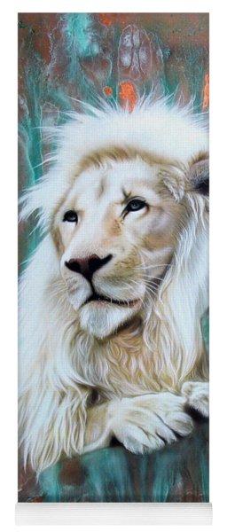 Copper White Lion Yoga Mat