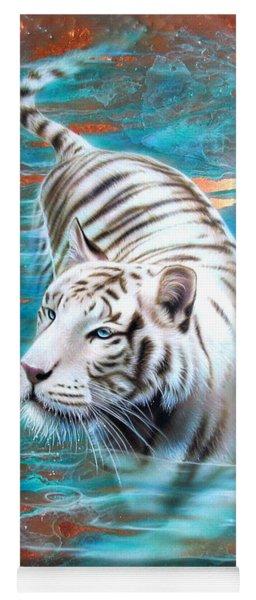 Copper White Tiger Yoga Mat