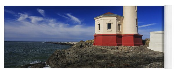 Coquille River Lighthouse 3 Yoga Mat