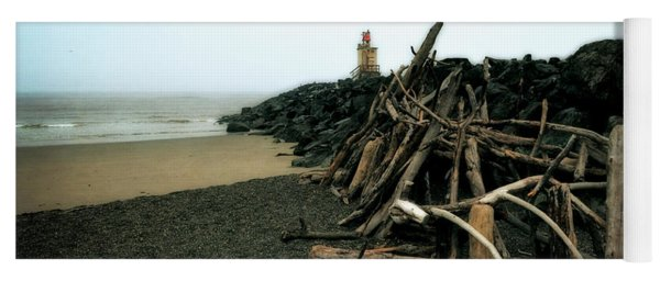 Coquille River South Jetty Yoga Mat