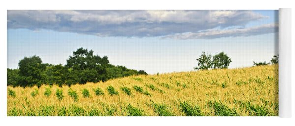 Corn Field Yoga Mat