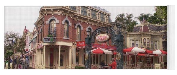 Corner Cafe Main Street Disneyland 02 Yoga Mat