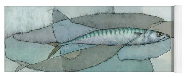 Cornish Mackerel Yoga Mat