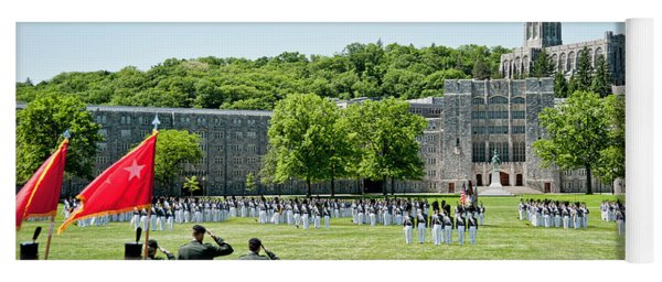 Corps Of Cadets Present Arms Yoga Mat