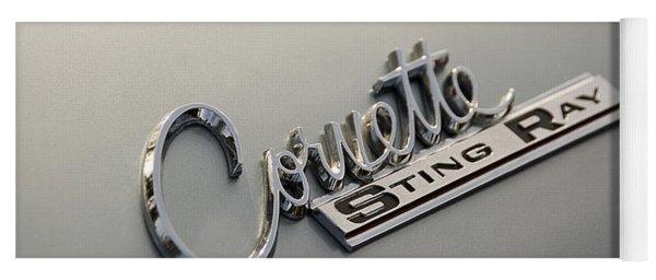 Corvette Sting Ray Yoga Mat