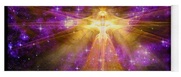 Cosmic Angel Yoga Mat