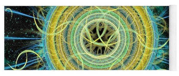 Cosmic Circle Fusion Yoga Mat
