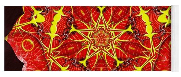Cosmic Masculine Firestar Yoga Mat
