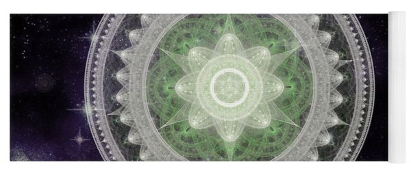 Cosmic Medallions Earth Yoga Mat