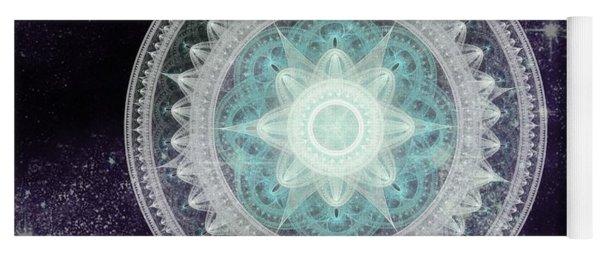 Cosmic Medallions Water Yoga Mat