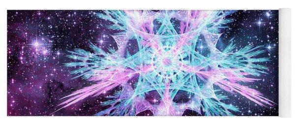 Cosmic Starflower Yoga Mat