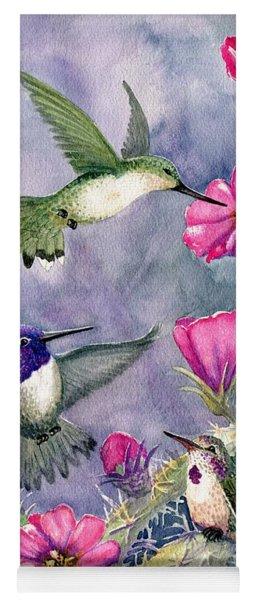 Costa Hummingbird Family Yoga Mat