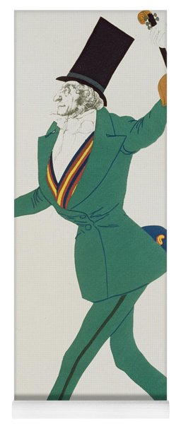 Costume Design For Paganini In The Enchanted Night Yoga Mat