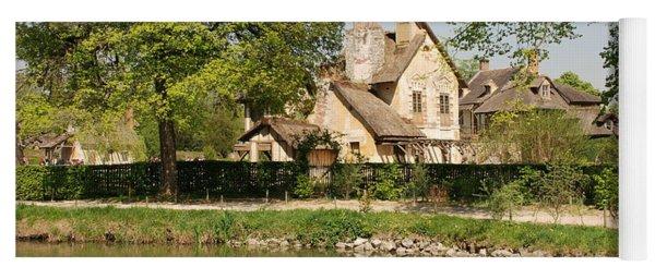 Cottage In The Hameau De La Reine Yoga Mat