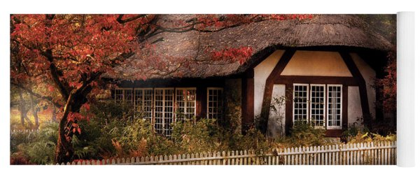 Cottage - Nana's House Yoga Mat