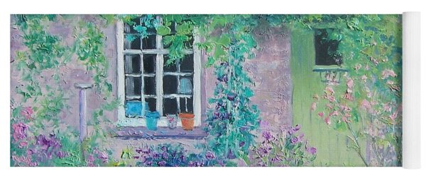 Country Cottage Yoga Mat