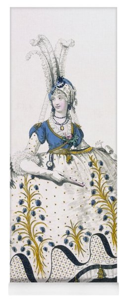Court Dress, Fig No.130 From The Yoga Mat