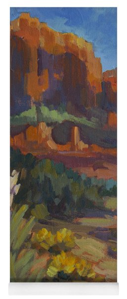 Courthouse Rock Sedona Yoga Mat