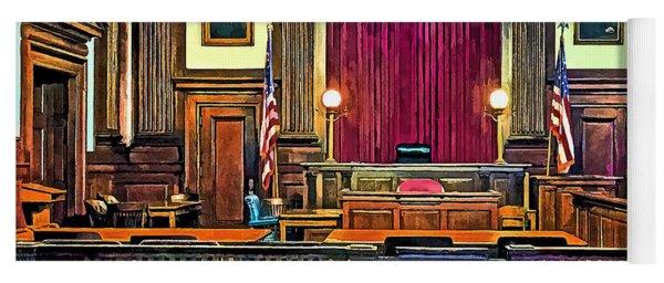 Courtroom Yoga Mat