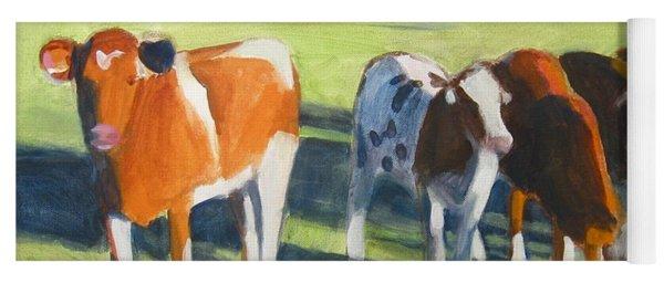 Happy Cows  Yoga Mat