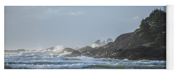 Cox Bay Afternoon Waves Yoga Mat