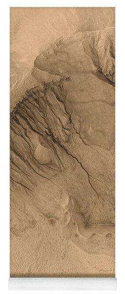 Crater On Mars Yoga Mat