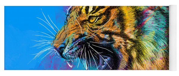 Crazy Tiger Yoga Mat
